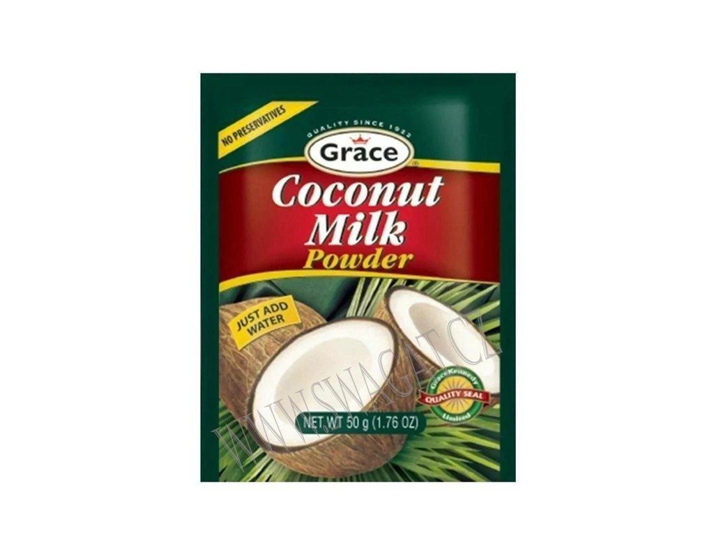 Sušené kokosové mléko (Coconut Milk Powder), GRACE 50g