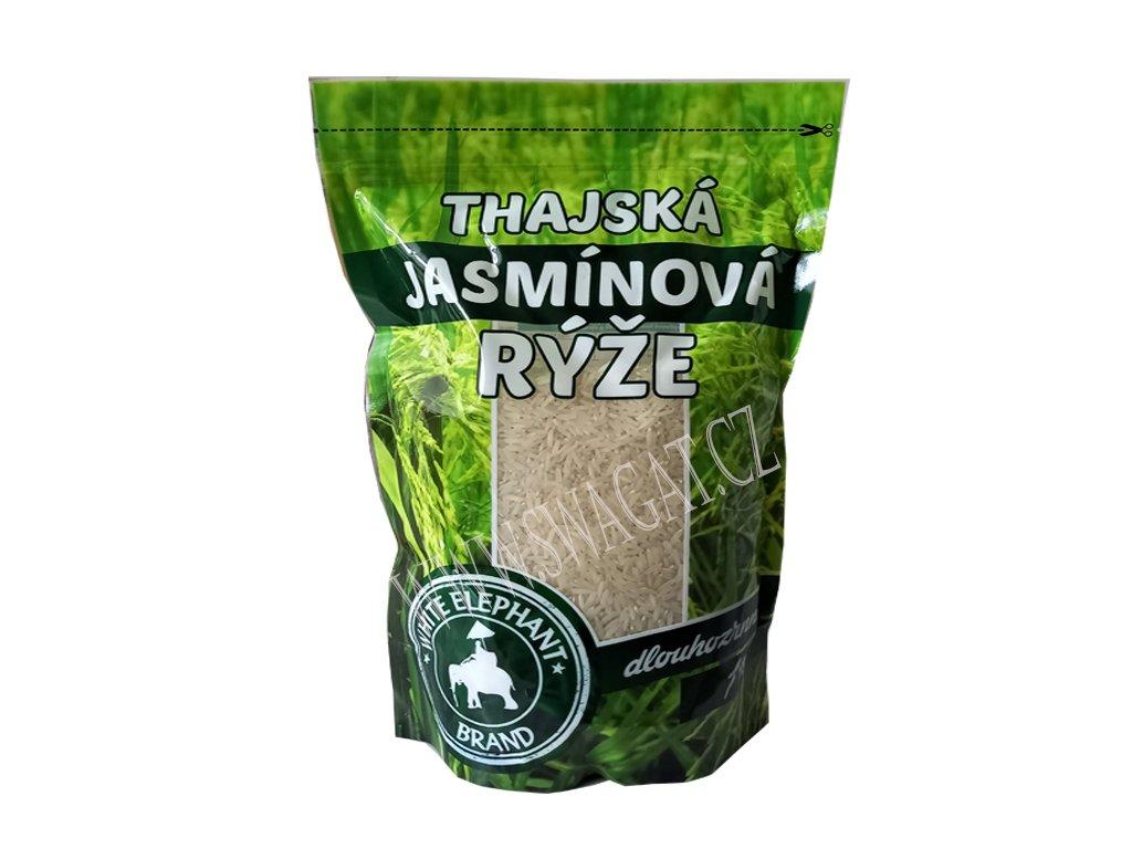 Thajská jasmínová rýže dlouhozrná, WHITE ELEPHANT 1kg