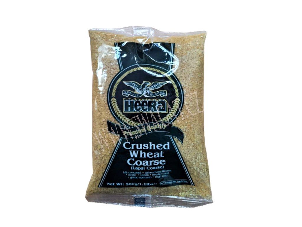 Lapsi - drcená pšenice hrubá (Crushed Wheat Coarse), HEERA 500g
