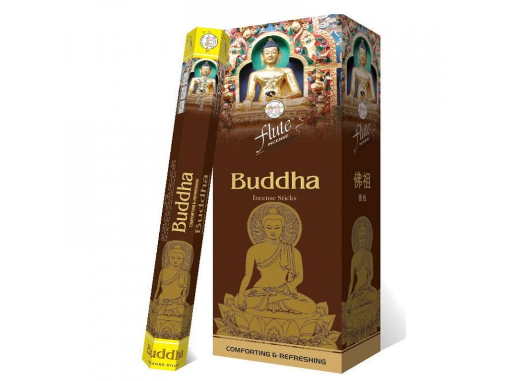 Vonné tyčinky Buddha (Buddha Incense Sticks), 20pc