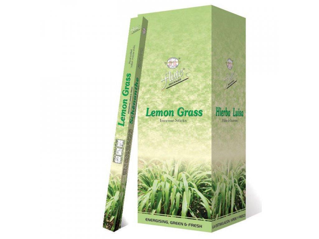 Vonné tyčinky Citronová tráva (Lemon Grass Incense Sticks), 20pc