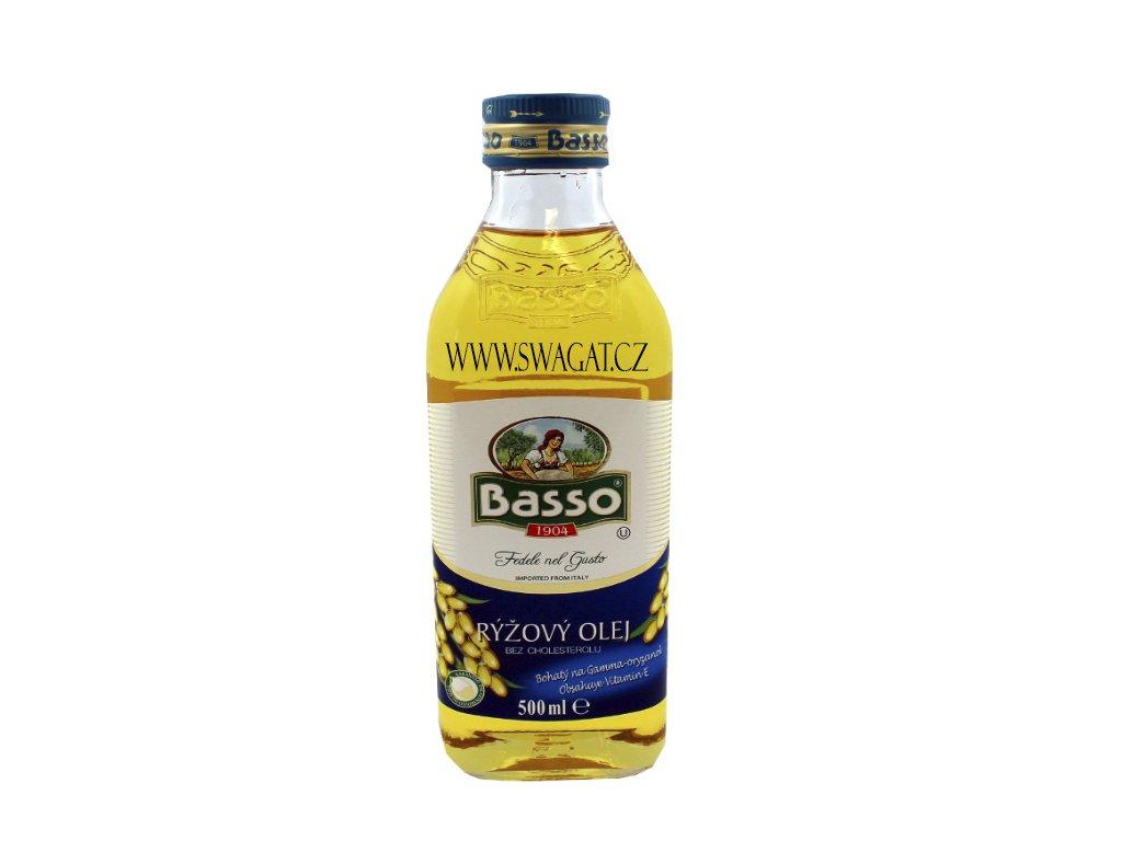 Rýžový olej (Rice Oil), BASSO 500ml