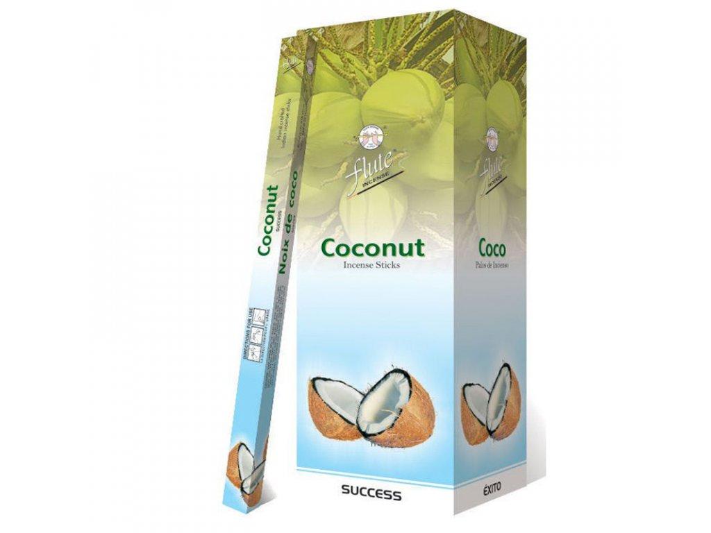 Vonné tyčinky Kokosové (Coco Incense Sticks), 20pc