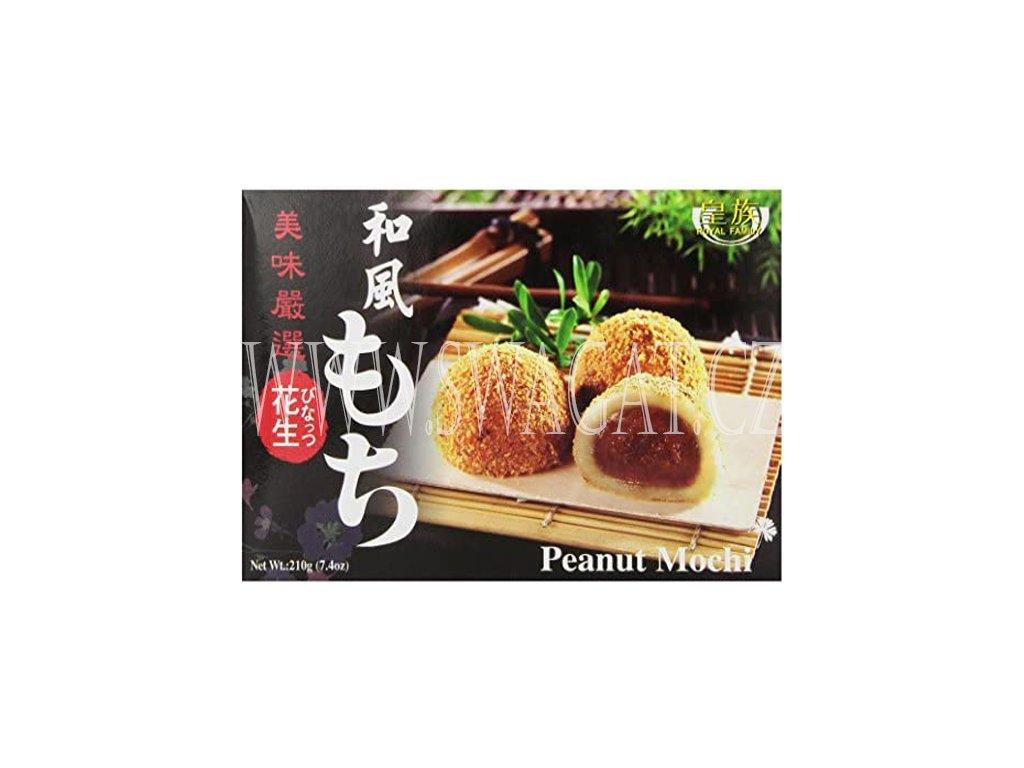 Japonské Mochi arašídové (Mochi Peanut), ROYAL FAMILY 210g