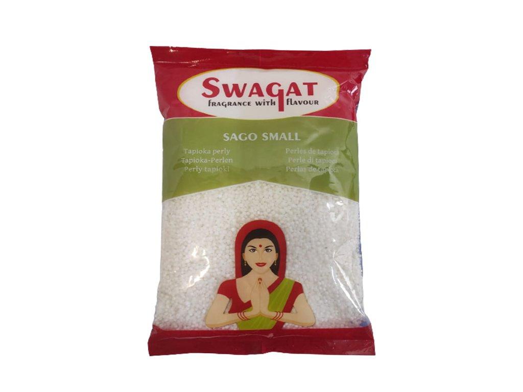Thai Sago – Tapioka perly (Small), HEERA 500g