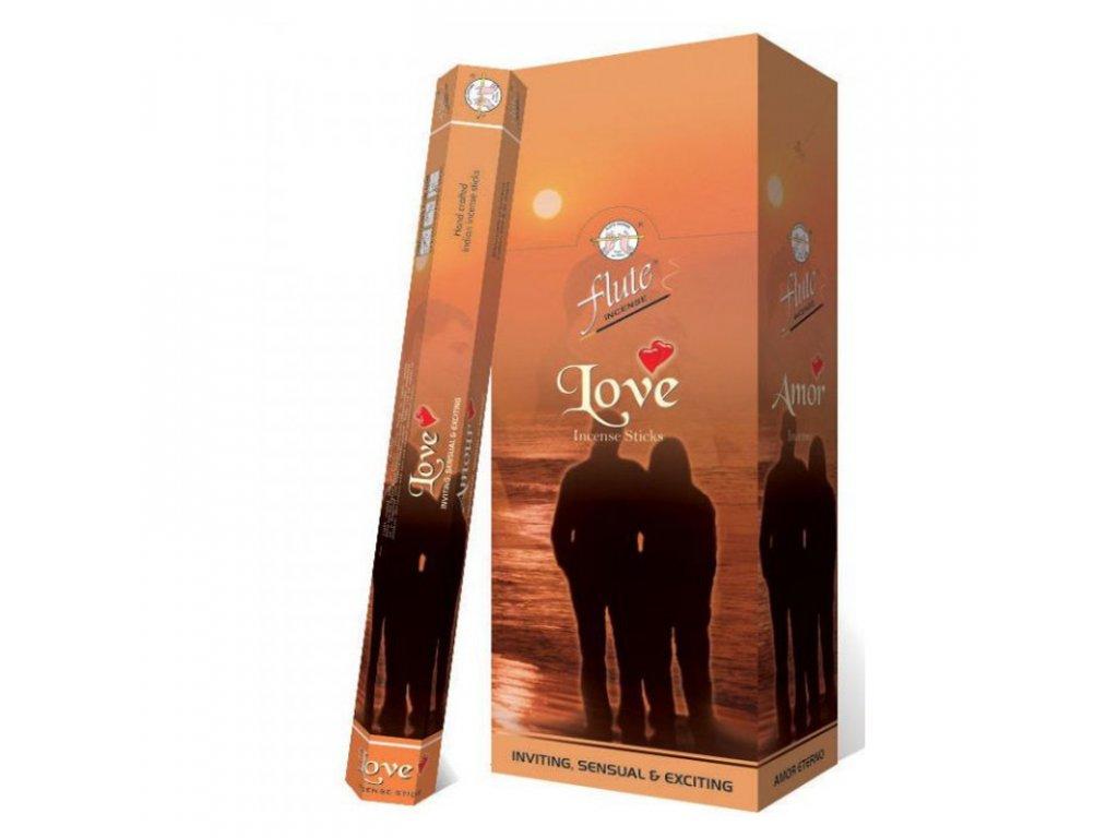 Vonné tyčinky LOVE (Incense Sticks Love), 20pc