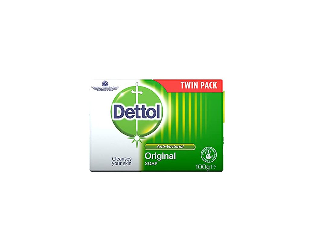 DETTOL Antibakteriální mýdlo 100g