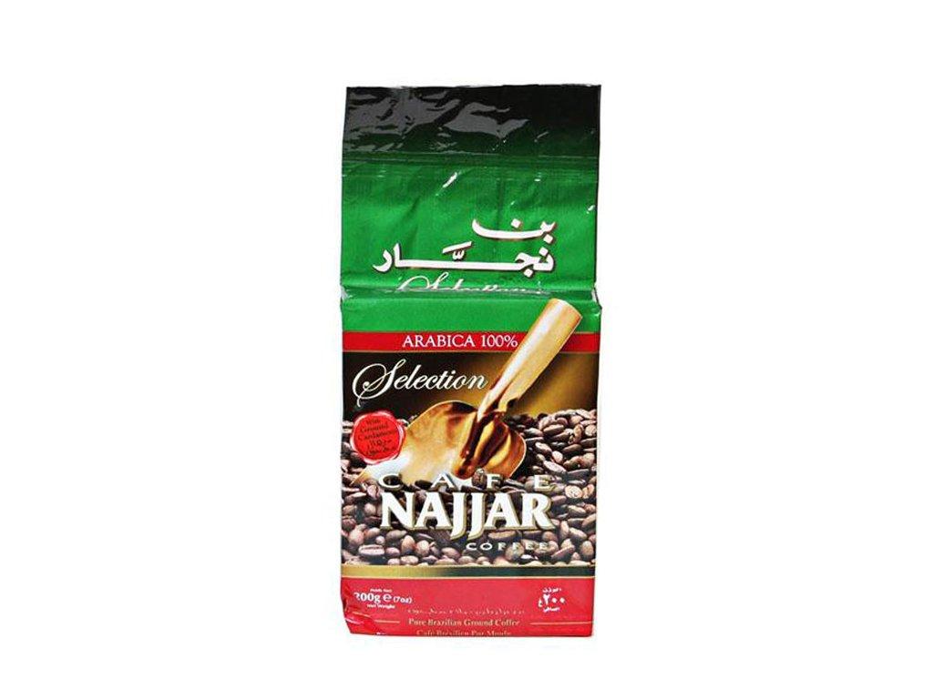 NAJJAR Arabica mletá káva s kardamomem, 200g