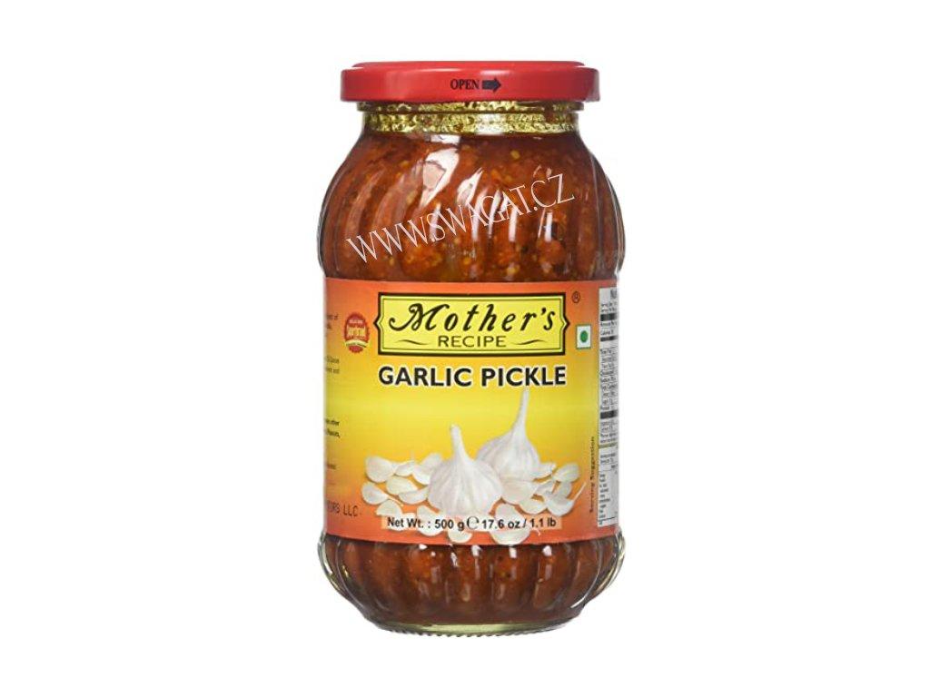 Nakládaný česnek (Garlic Pickle), Mother`s Recipe  500g