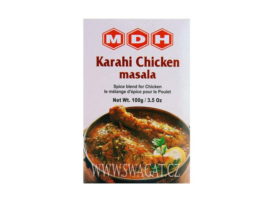 Koření na kuřecí máso Karahi Chicken Masala, MDH 100g