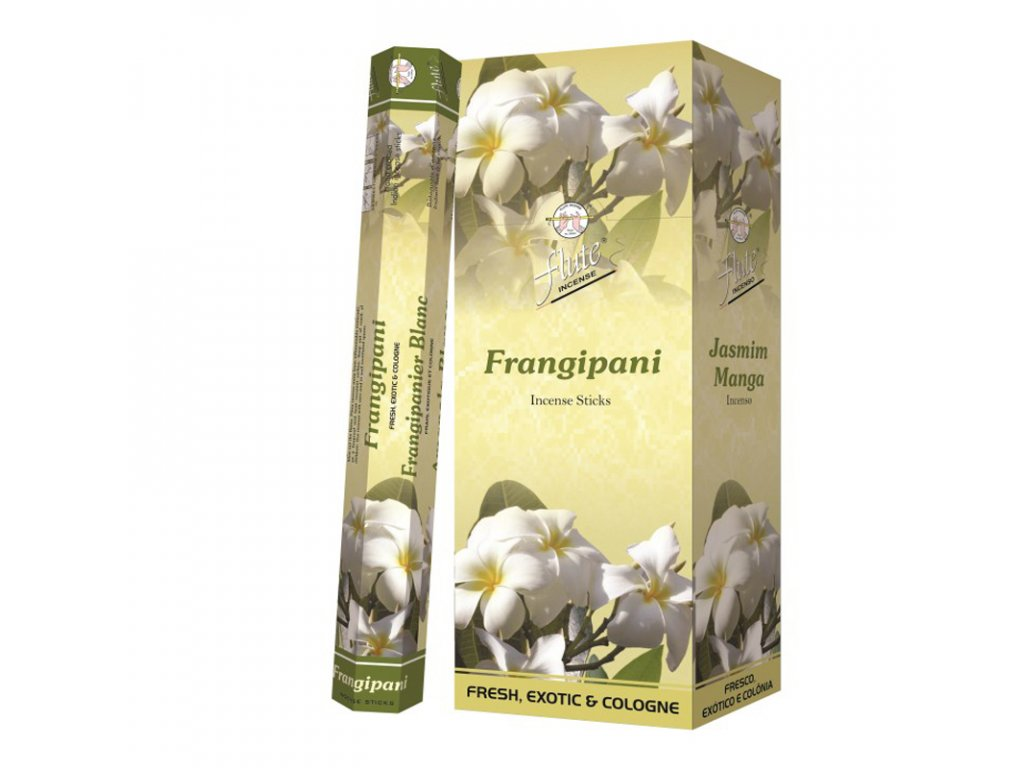 Vonné tyčinky Květina keře (Frangipani Incense Sticks) 20pc