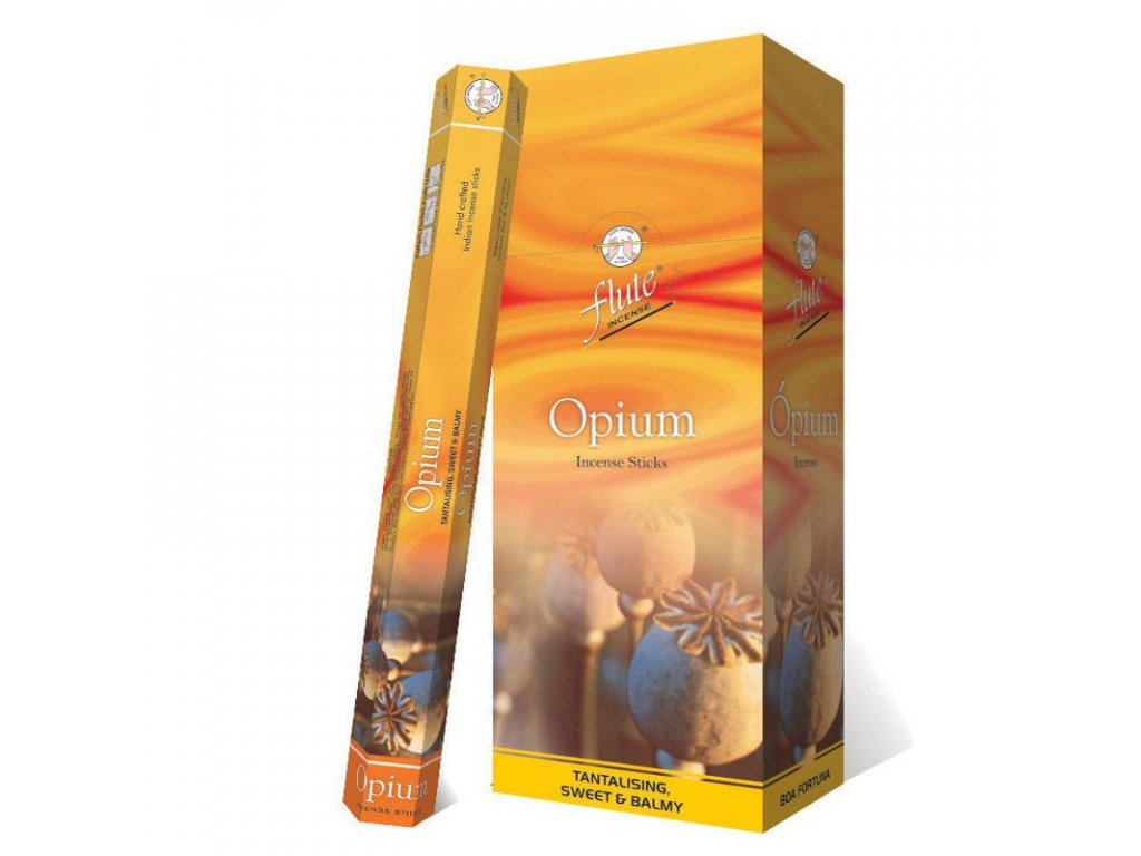 Vonné tyčinky Opium (Opium Incense Sticks), 20pc