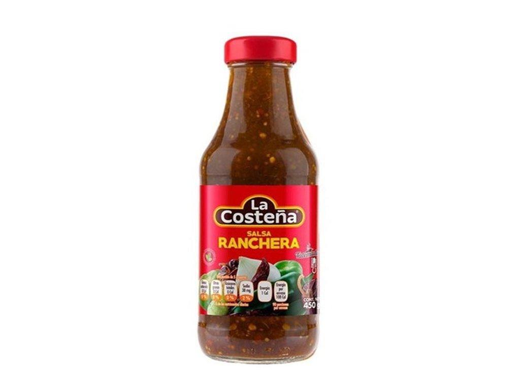 Salsa Ranchera – dochucovácí omáčka ostra, LA COSTEŇA 450g