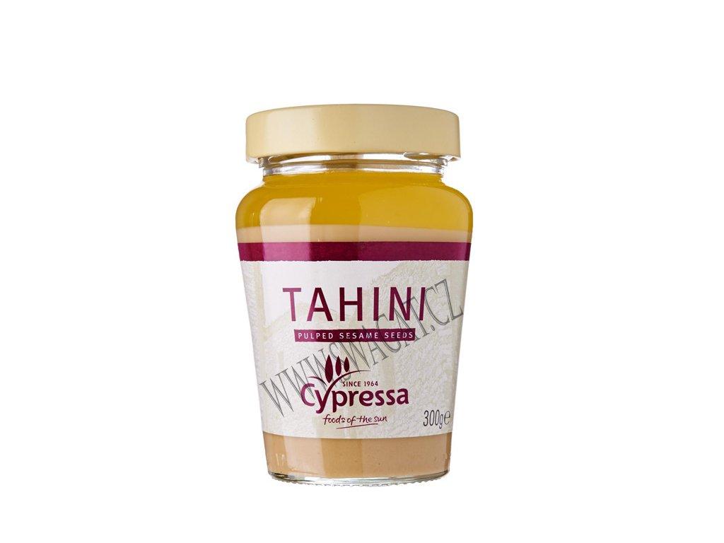 Tahini pasta z drcených sezamových semínek (Pulped Sesame Seeds), CYPRESSA 300g