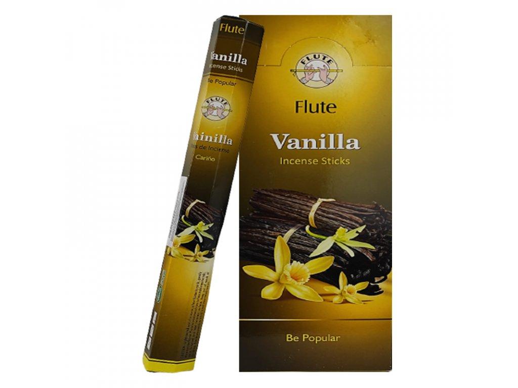 Vonné tyčinky Vanilka, FLUTE 20ks