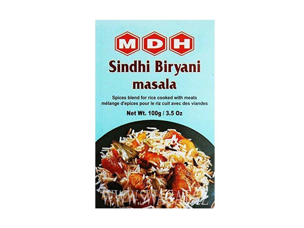 Koření na rýže s masem Sindhi Biryani Masala, MDH 100g