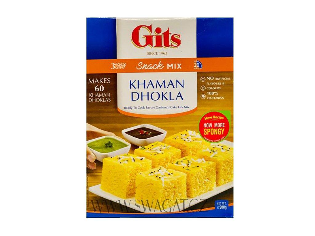 Khaman Dhokla - instantní směs (Snack Mix), GITS 500g