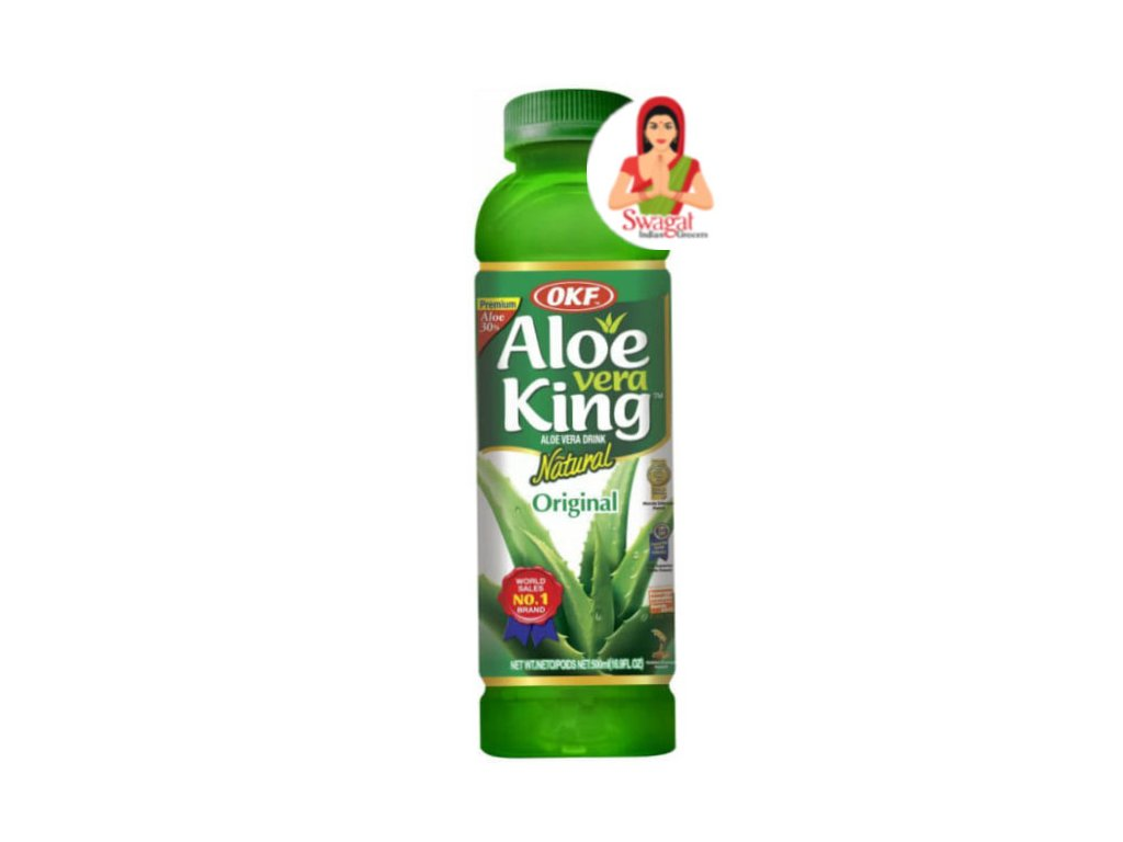 Aloe Vera Drink Natural, OKF 500ml