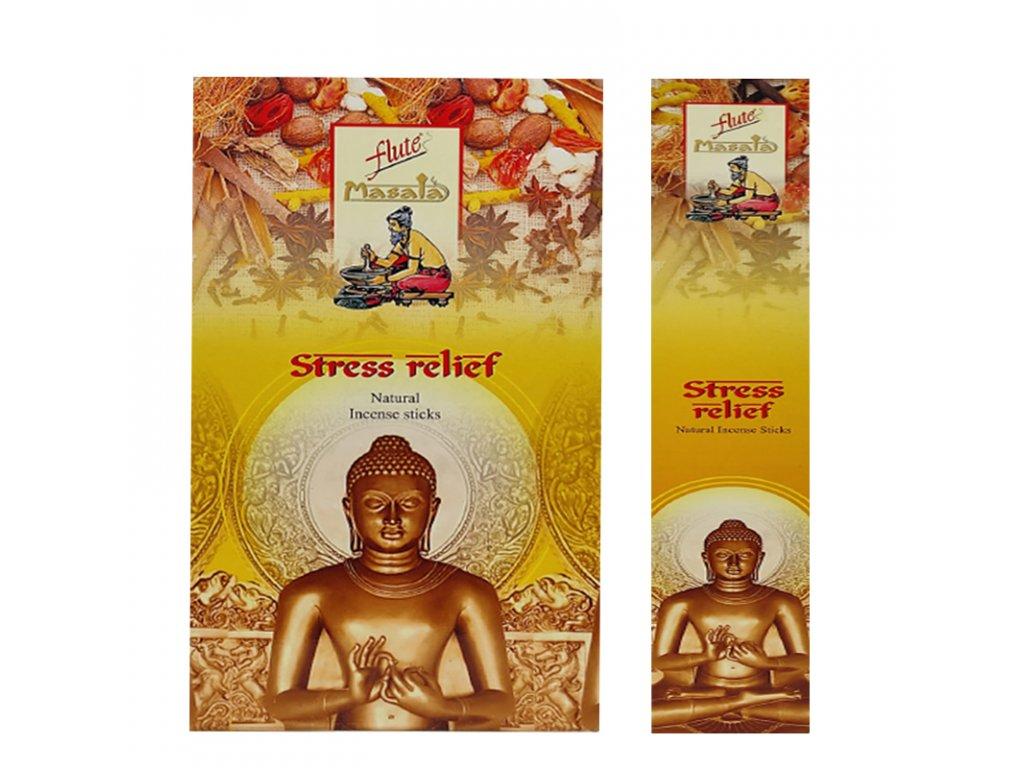 Vonné tyčinky Úleva od stresu (Stress relief Incense Sticks), 15ks