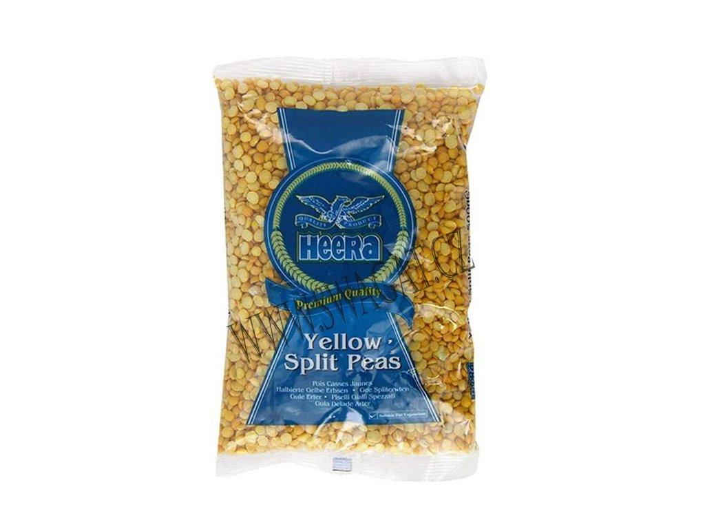 Žlutý hrášek půlený (Yellow Split Peas), HEERA 500g