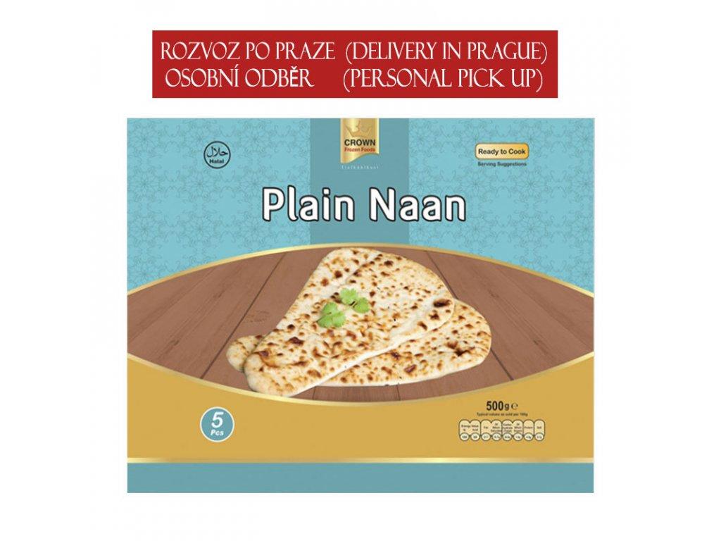 Naan (Plain), CROWN 500g (5ks)