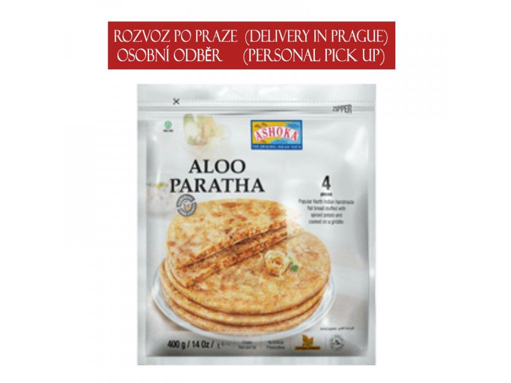 Aloo (bramborová) Paratha, ASHOKA 400g (4ks)