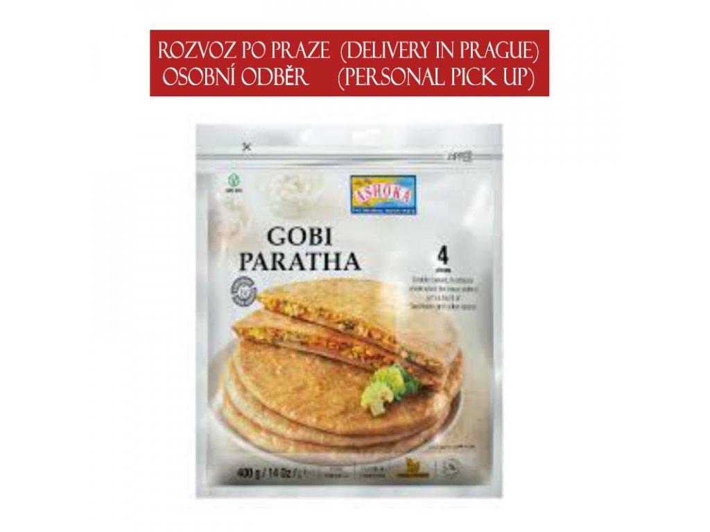 Gobi (květáková) Paratha, ASHOKA 400g (4ks)