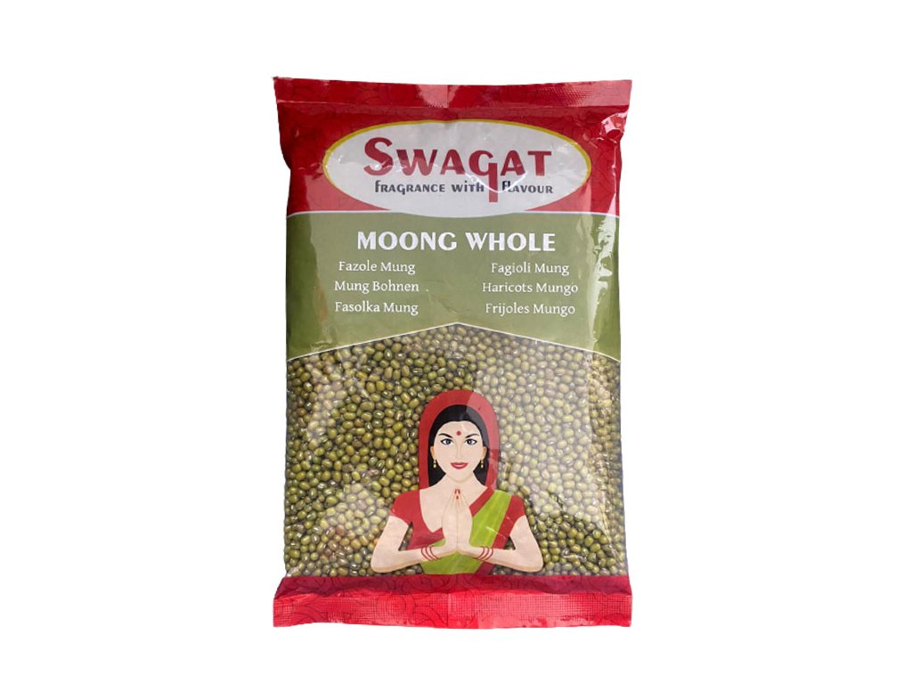 SWAGAT Moong Whole - fazole 500g