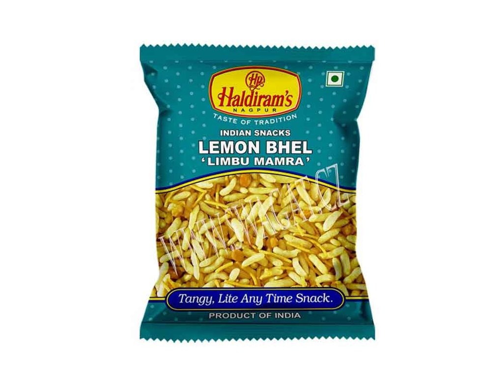 Lemon Bhel snack, HALDIRAM'S 150g