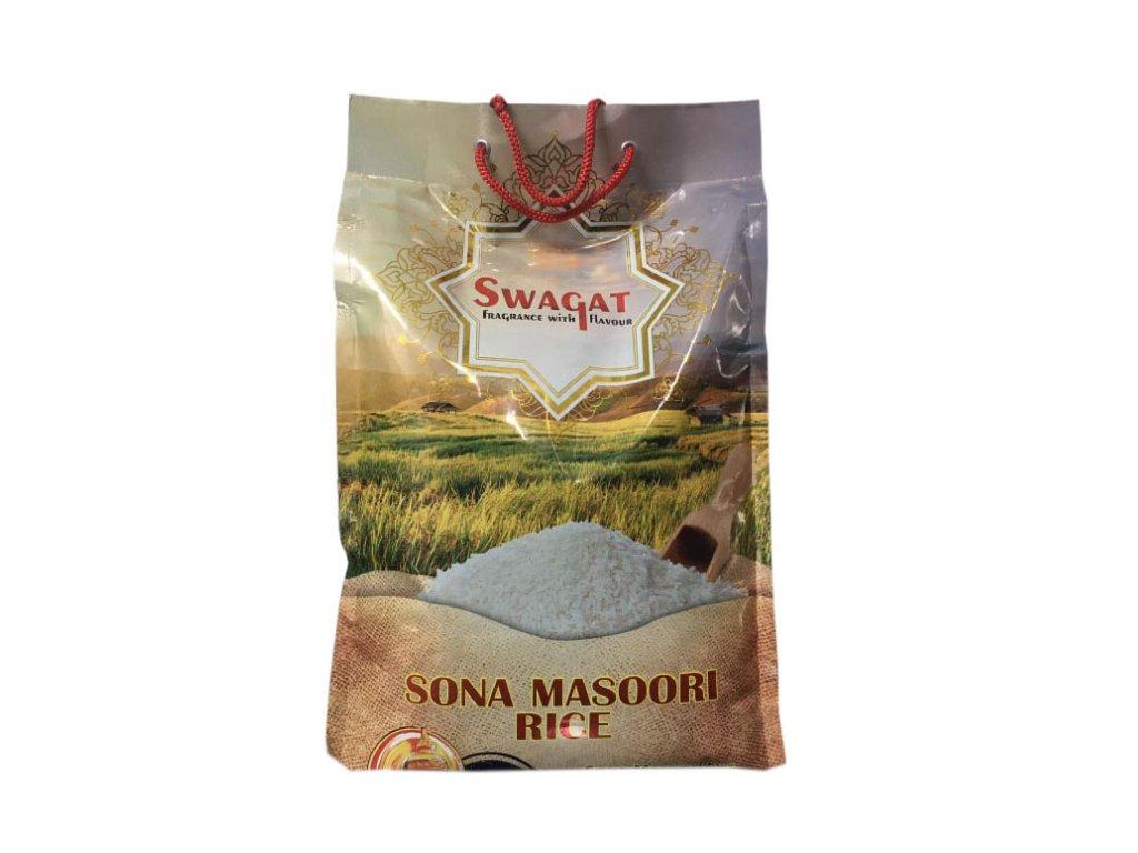 SWAGAT Rýže Sona Masoori 5Kg