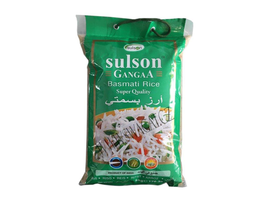 Basmati rýže Gangaa (Basmati Rice), SULSON 5kg
