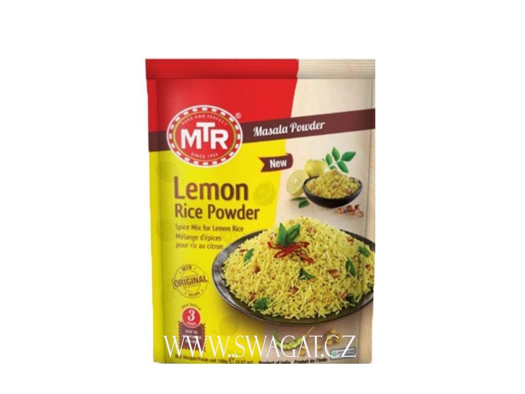 Lemon Rice - instantní směs (Instant Mix), MTR 100g