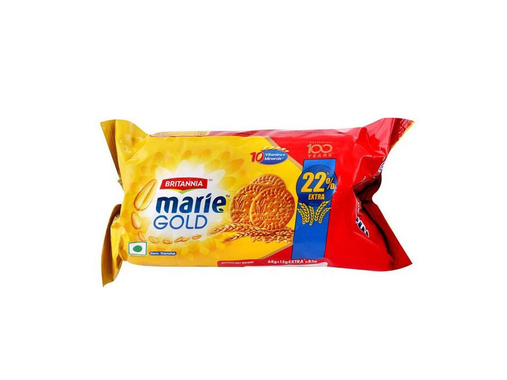 Sušenky Marie Gold, BRITANNIA 83g
