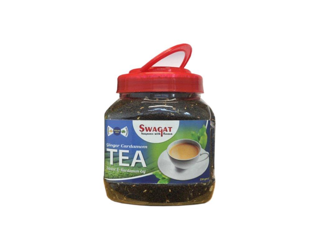 SWAGAT Černý čaj se zázvorem a kardamomem 250g