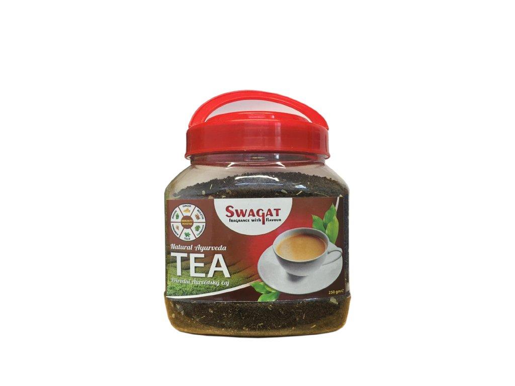 Přírodní Ájurvédský čaj (Natural Ayurvedic Tea) , SWAGAT 250g