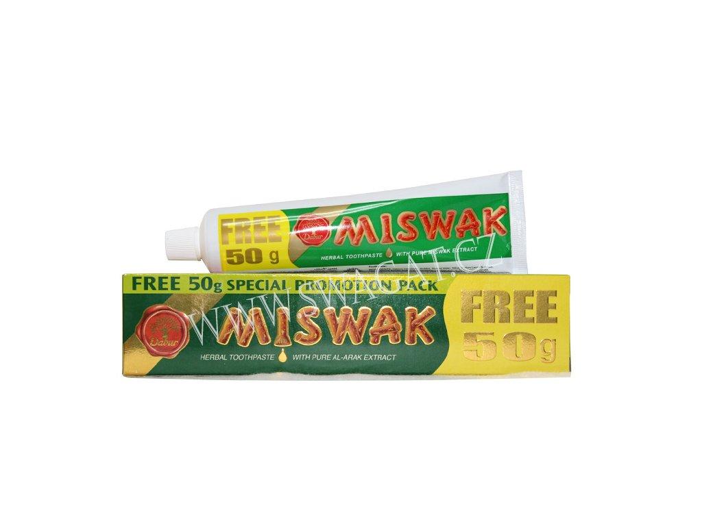 MISWAK - bylinná zubní pasta, DABUR 170g