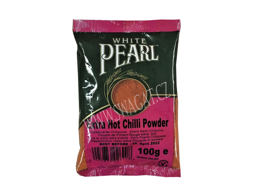 Extra pálivé chilli mleté (Extra Hot Chilli Powder), WP 100g