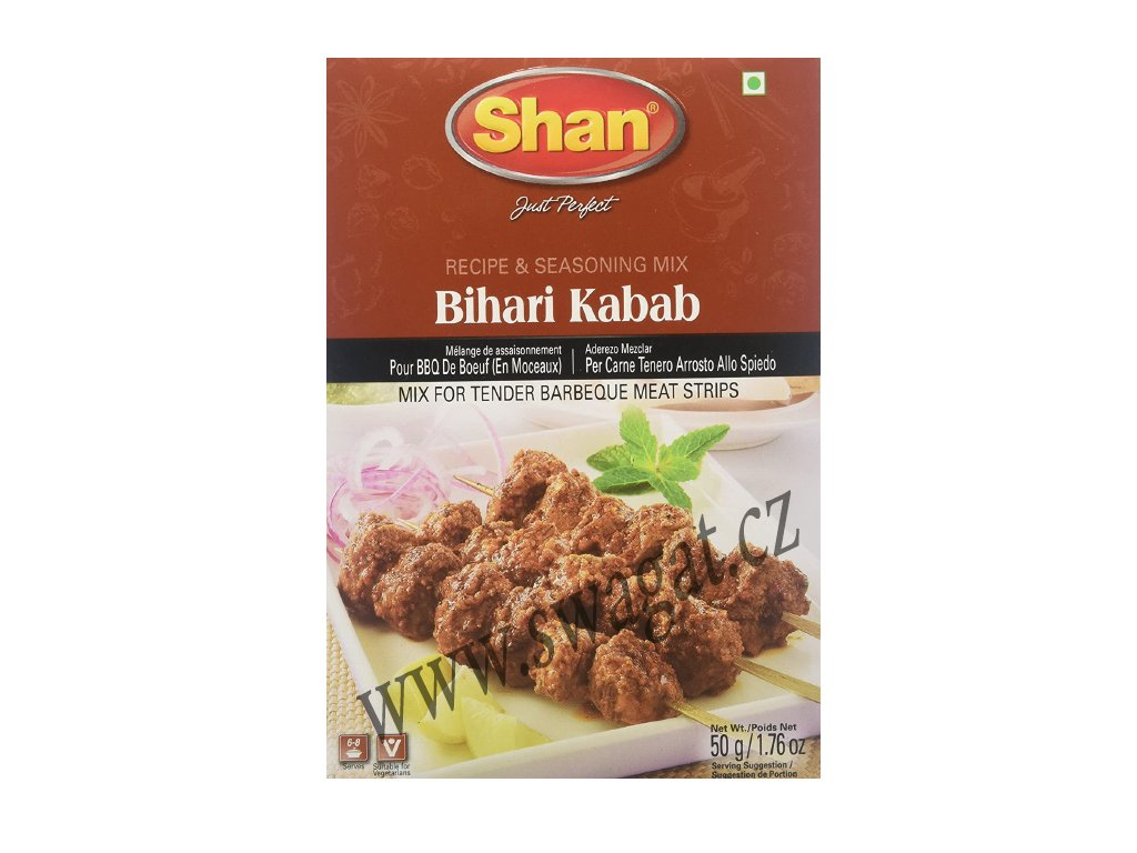 Grilovací koření Bihari Kabab, SHAN 50g
