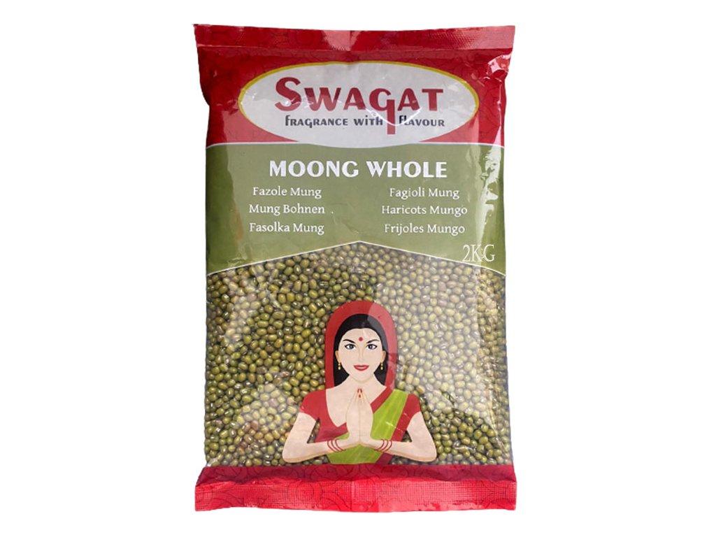 SWAGAT Moong Whole - fazole 2kg