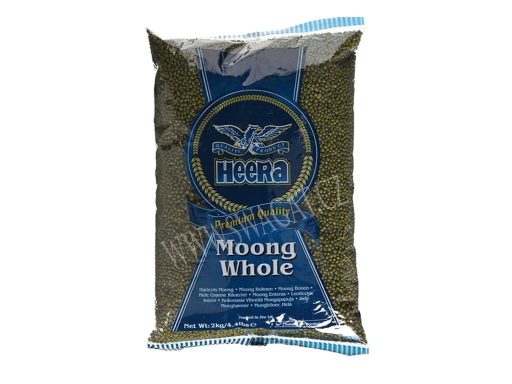 Fazole Mungo (Moong Whole), HEERA 2Kg