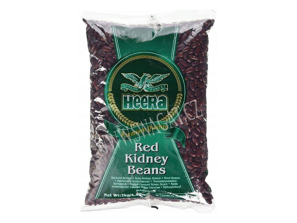 Red Kidney Beans - červené fazole, HEERA 2Kg
