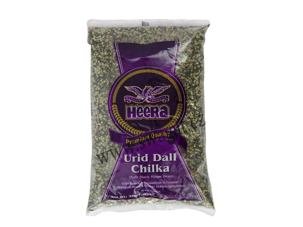 Urid Dall Chilka - čočka půlená, HEERA 2kg