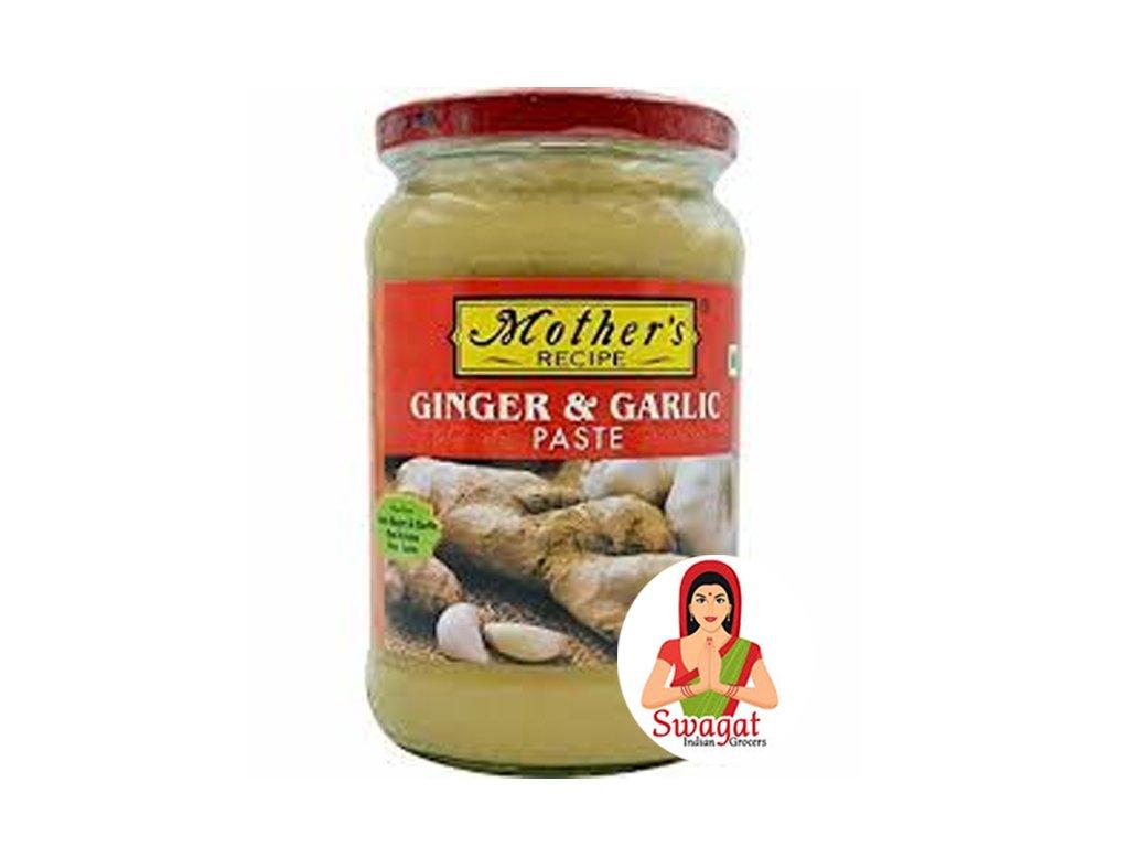 Zázvorovo-česneková pasta (Ginger & Garlic Paste), Mother`s Recipe 1Kg