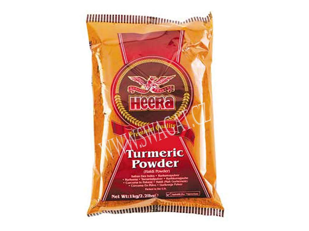 Mletá kurkuma (Turmeric Powder), HEERA 1Kg