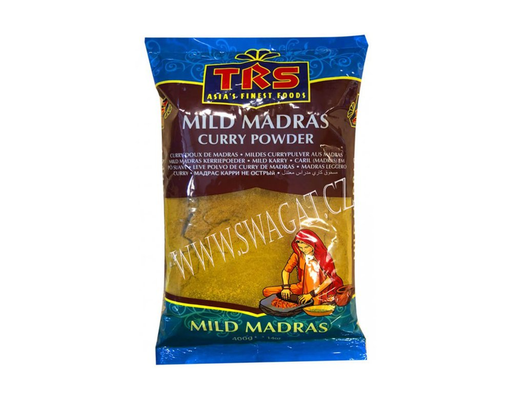 Kari Madras jemně pálivý (Mild Madras Curry Powder),TRS 400g