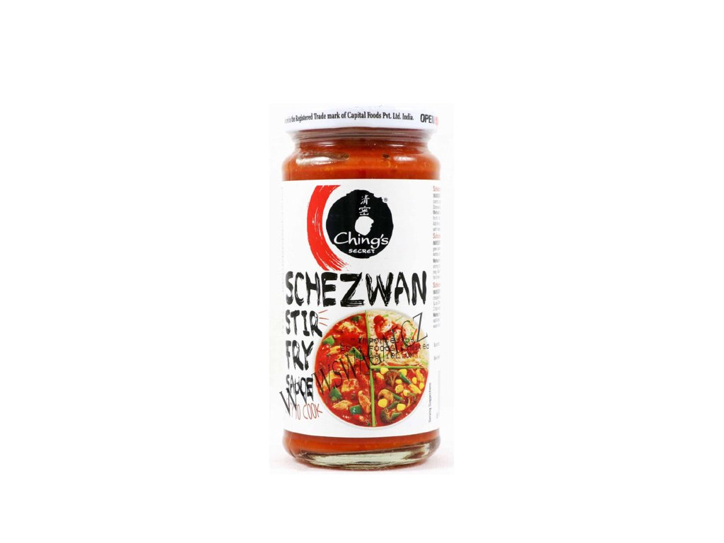 Omáčka Schezwan Stir Fry, CHING'S SECRET 250g