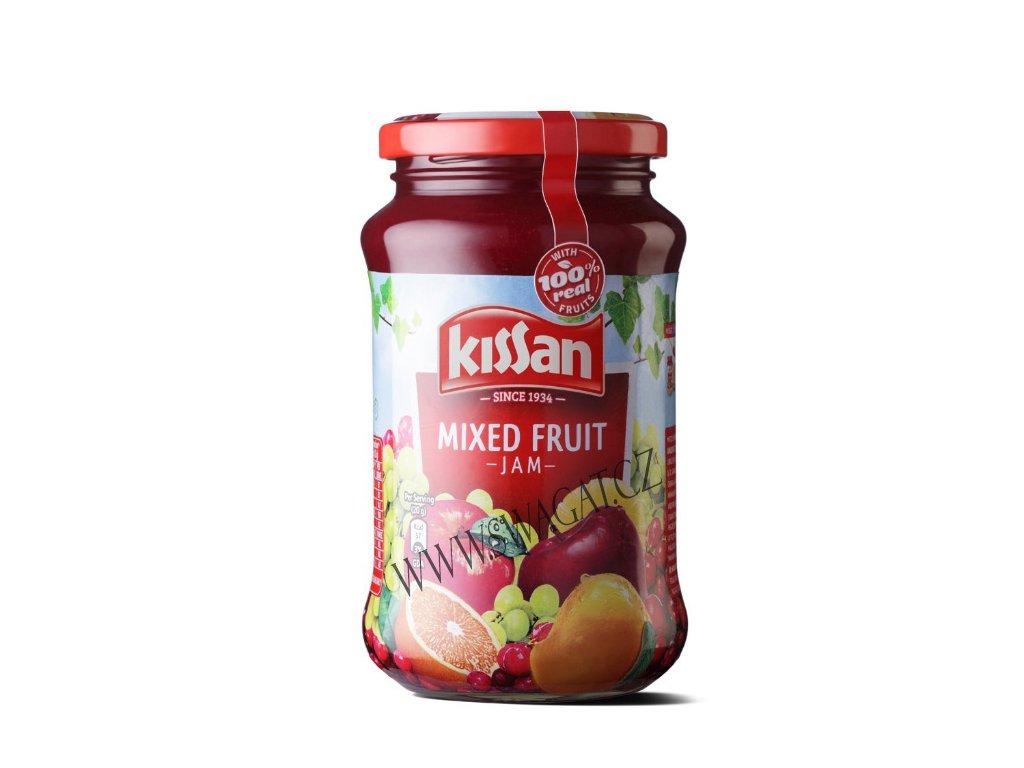 Ovocní džem (Mixed Fruit Jam), KISSAN 500g