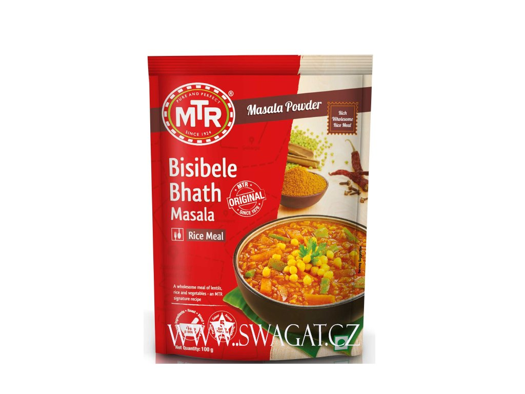 Bisibele Bhath Masala - instantní směs (Instant Mix), MTR 100g
