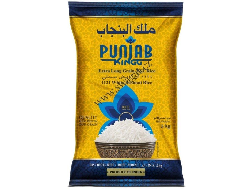 PUNJAB KING, Basmati rýže XXL 5Kg