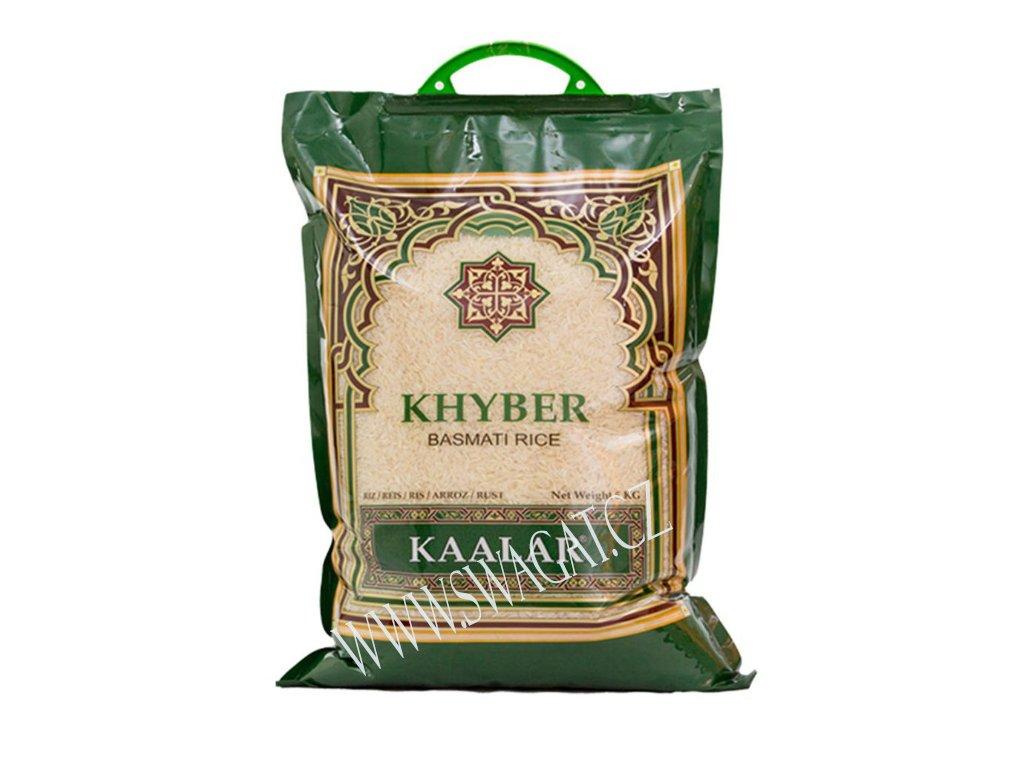 Basmati rýže Khyber, KAALAR 5Kg
